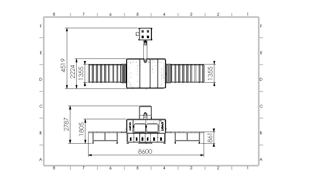 Bag-House-roller-table-1250-6-3-sc-Full-Assembly-RT